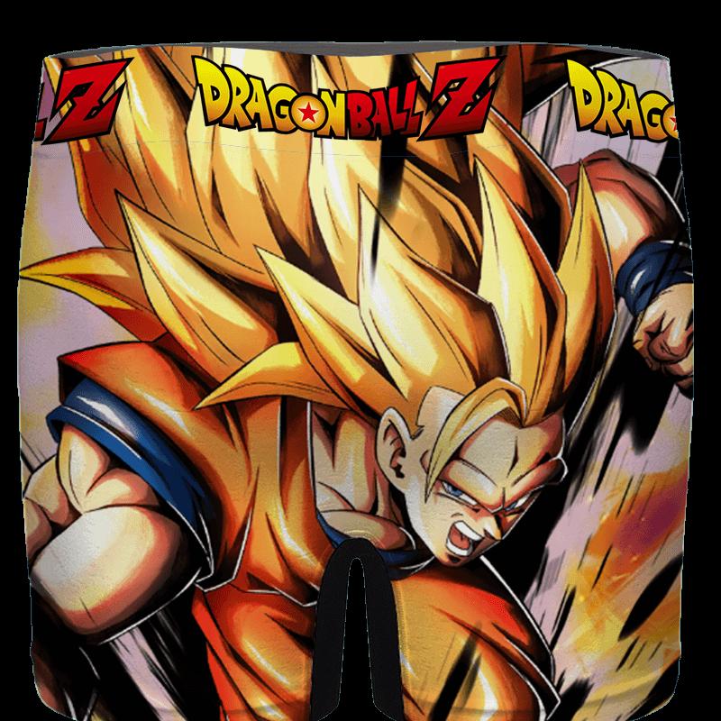 Dragon Ball Z Super Saiyan 3 Goku Dope Men's Underwear - back