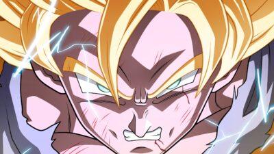 Dragon Ball Z Super Saiyan Goku Enraged Close-up HD Wallpaper