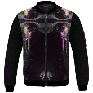 Kendrick Lamar Digital Art Pixel Smoking 420 Marijuan Bomber Jacket