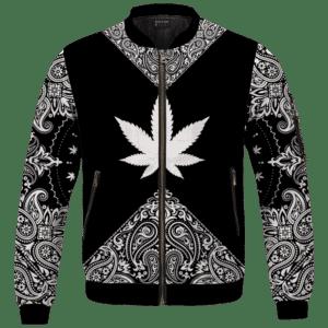 Legendary OG Kush Sativa Strain 420 Marijuana Bomber Jacket