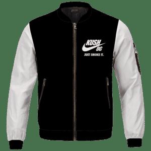 OG Kush Just Smoke It Nike Inspired Dope Bomber Jacket