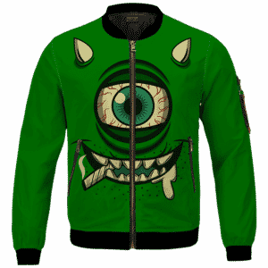 Stoner Mike Monsters Inc Dope Green Bomber Jacket