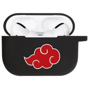 The Red Powerful Akatsuki Cloud Black Airpods Pro Case