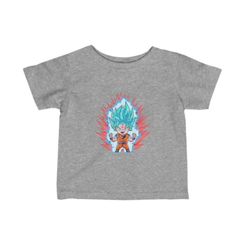 Dragon Ball Goku Super Saiyan Blue Cute Chibi Awesome Infant T-shirt