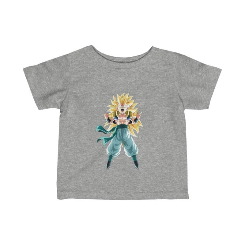 Dragon Ball Gotenks Charging Up SSJ3 Awesome Baby T-shirt
