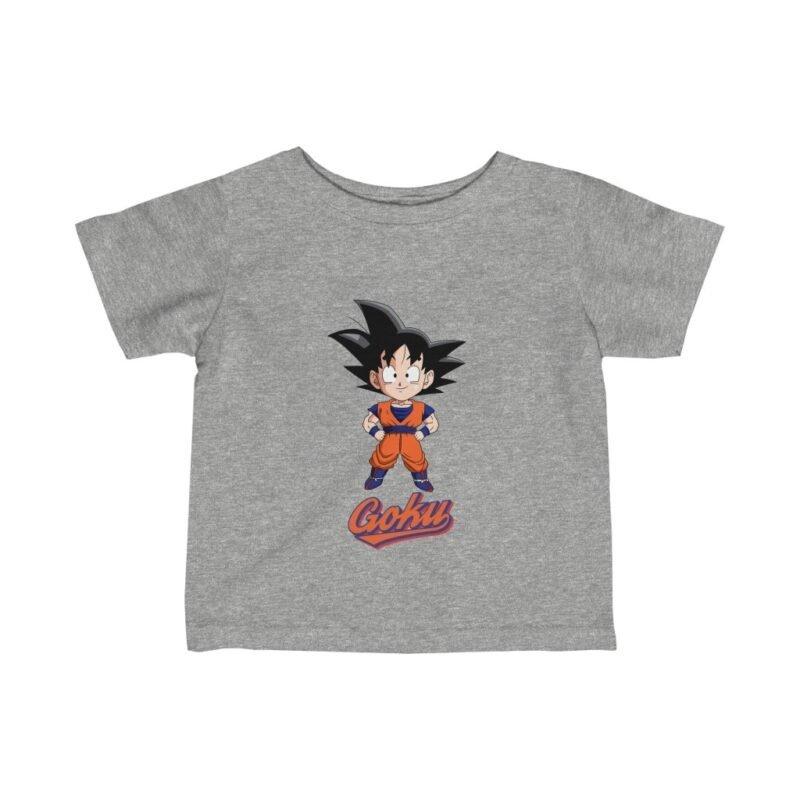Dragon Ball Z Chibi Goku Cute Awesome Retro Infant Baby T-shirt
