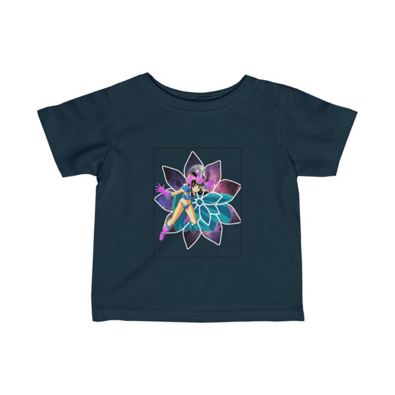 Dragon Ball Young Chi Chi Galaxy Flower Cute Baby T-shirt