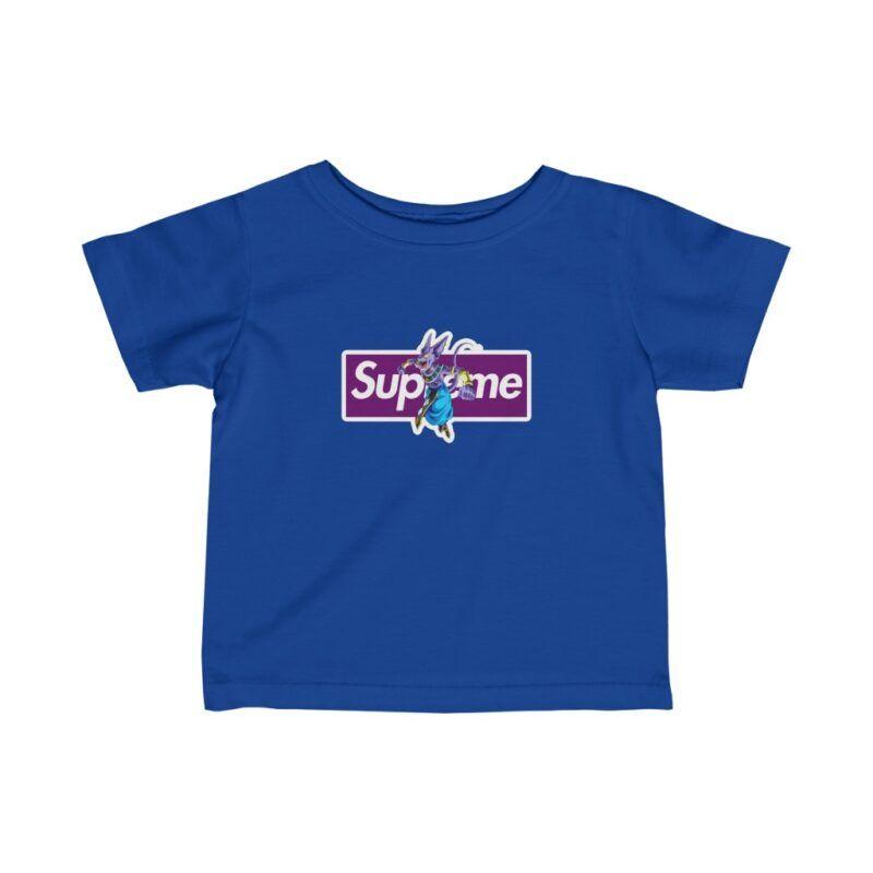 Dragon Ball Z Beerus Supreme Parody Fantastic Infant T-shirt