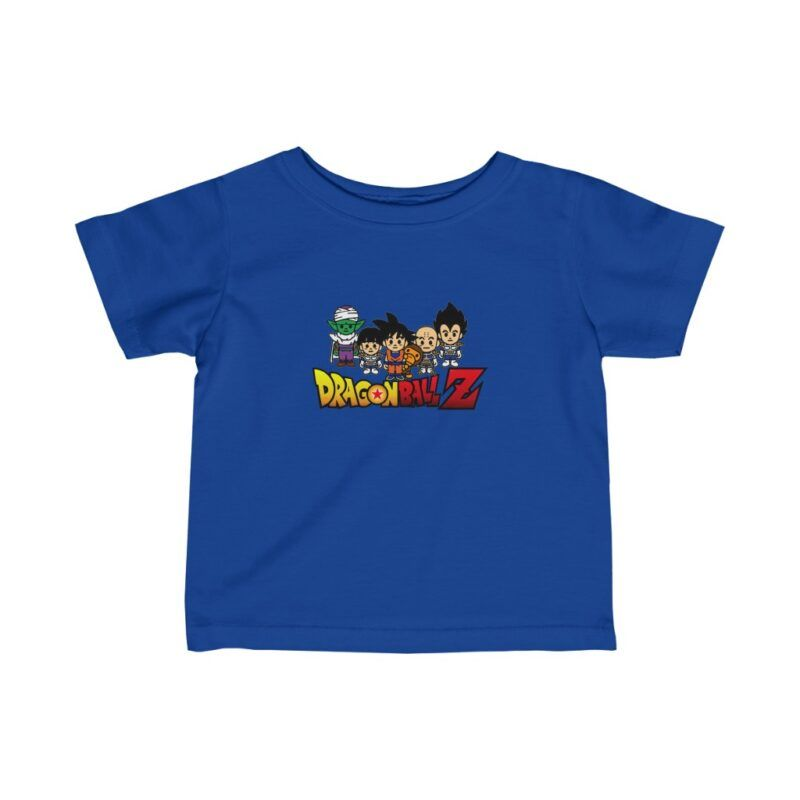 DBZ Cute Piccolo Gohan Goku Vegeta Krilin Awesome Infant T-shirt