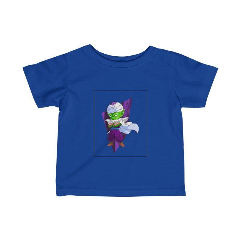 Dragon Ball Z Cute Chibi Piccolo Purple Awesome Baby T-shirt