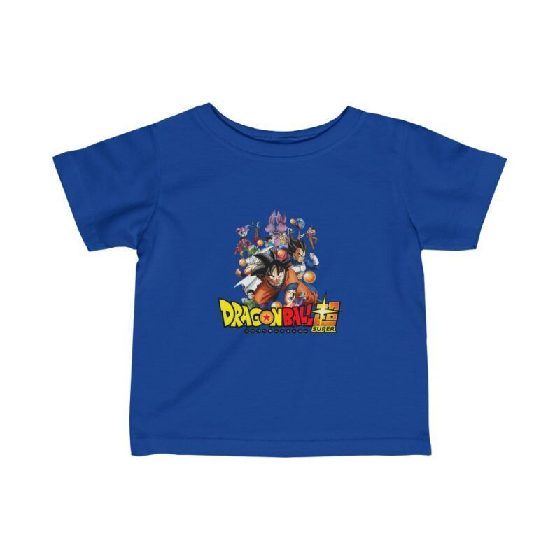 DBZ Super Major Characters Opening Poster Baby T-shirt
