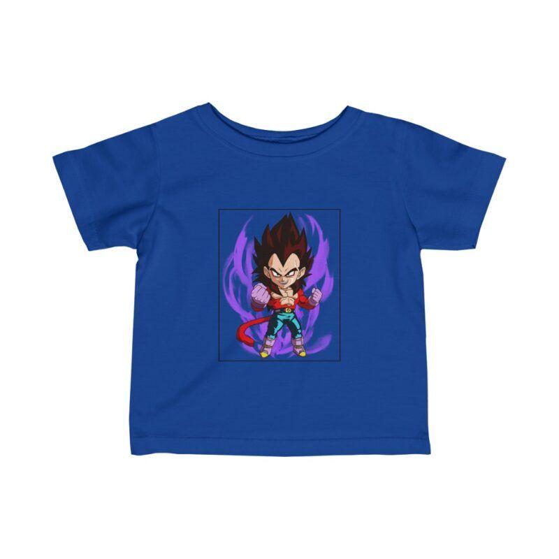 Dragon Ball Z Cute Chibi Super Saiyan 4 Vegeta Magnificent Infant T-shirt