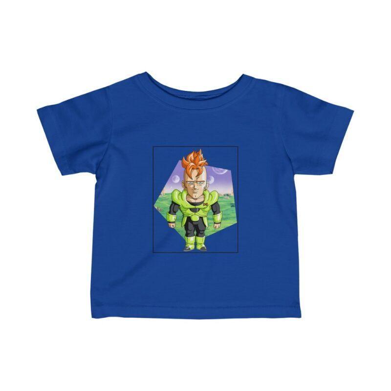Dragon Ball Z Cute Chibi Android 16 Awesome Infant T-shirt