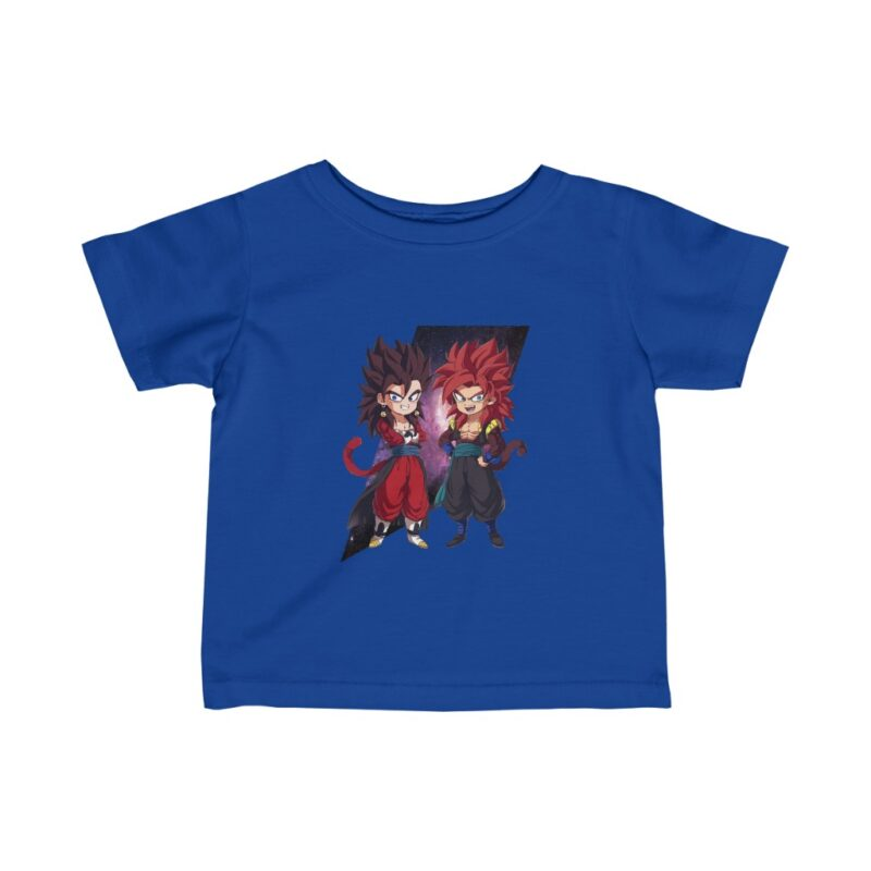 Dragon Ball Z Cute Chibi Vegito and Gogeta Dope Baby T-shirt
