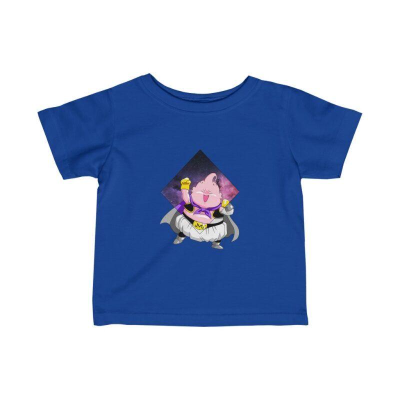 Dragon Ball Z Cute Majin Buu Galaxy Baby T-shirt