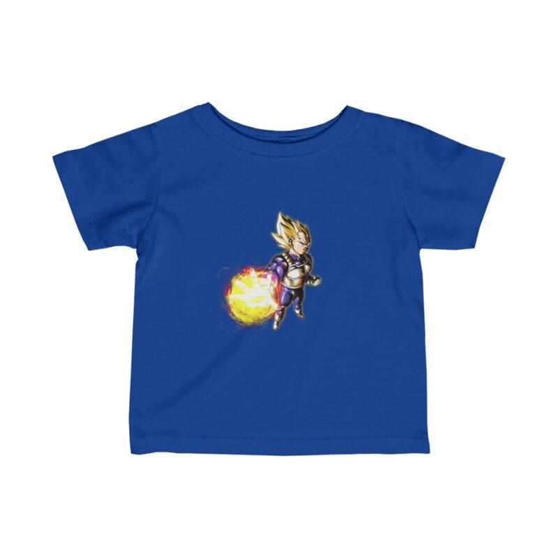 Dragon Ball Powerful Vegeta Super Saiyan 2 Marvelous Baby T-shirt