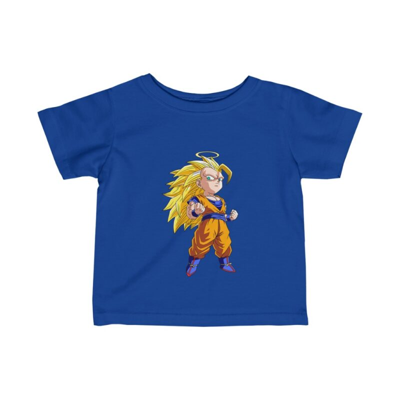 Dragon Ball Adorable Chibi Goku Super Saiyan 3 Infant T-shirt