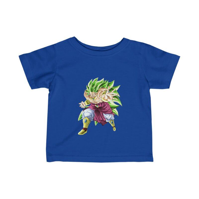 Dragon Ball Dokkan Battle Broly SSJ3 Awesome Art Baby T-shirt