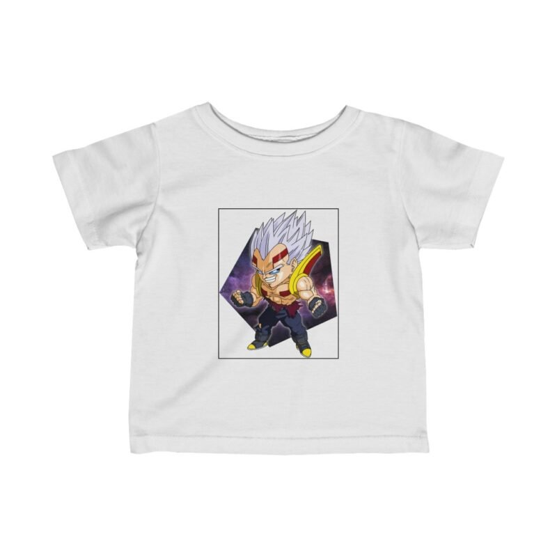 Dragon Ball Z Cute Chibi Baby Vegeta Cool Fascinating Baby T-shirt