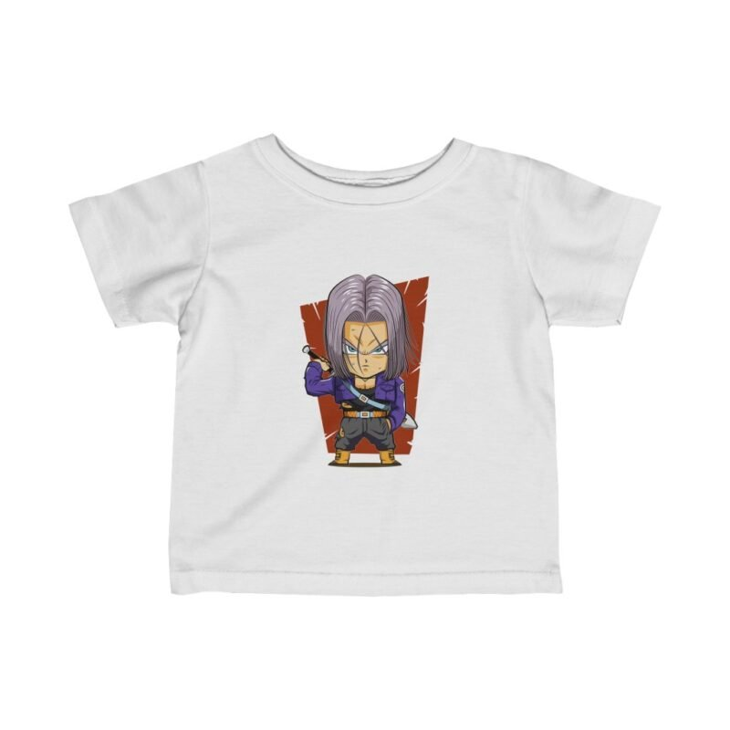 Dragon Ball FutureTrunks Chibi Dope Art Fascinating Baby T-shirt