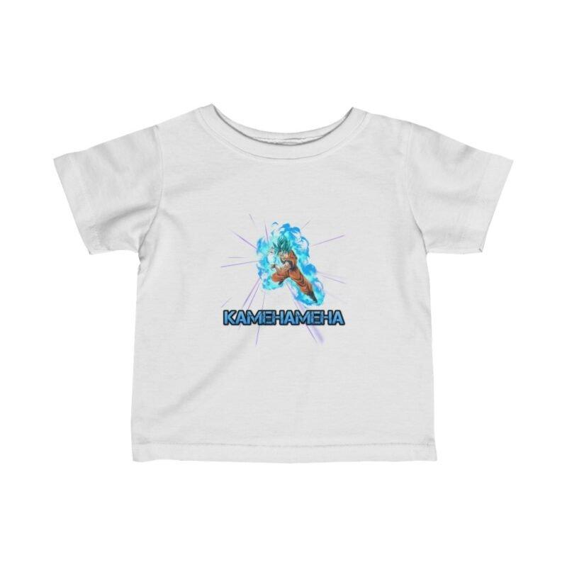 Dragon Ball Z Goku SSGSS Kamehameha Cool Baby T-shirt