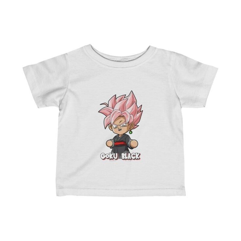 Dragon Ball Z Charming Goku Black Chibi Awesome Infant T-shirt