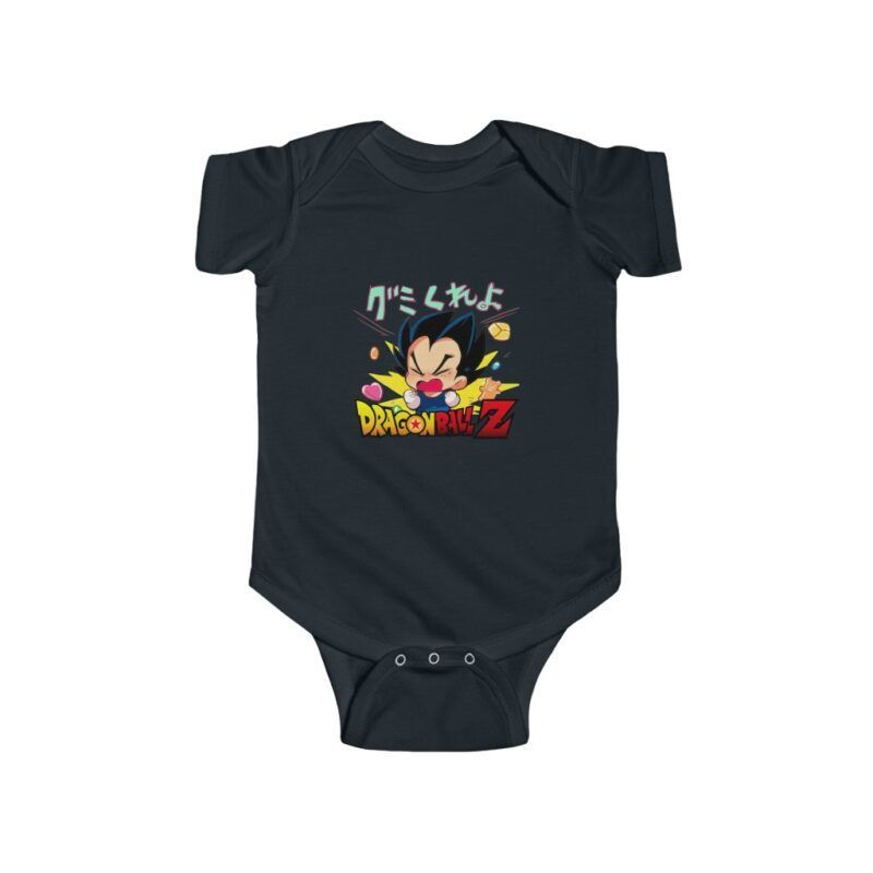 Dragon Ball Z Cute Baby Vegeta Crying Out Loud Onesie 24M