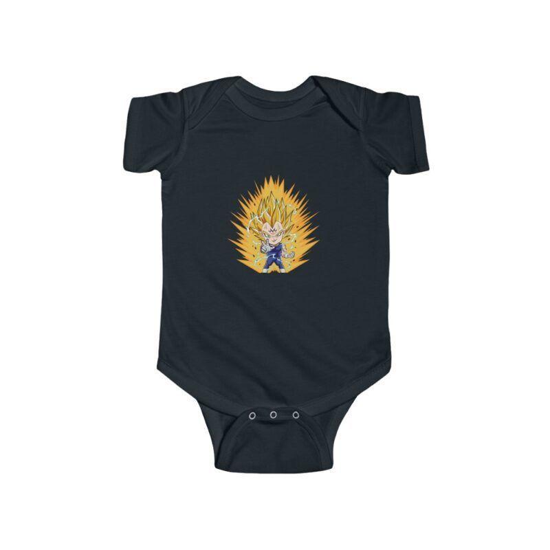 Dragon Ball Majin Vegeta Chibi Dope Art Infant Bodysuit