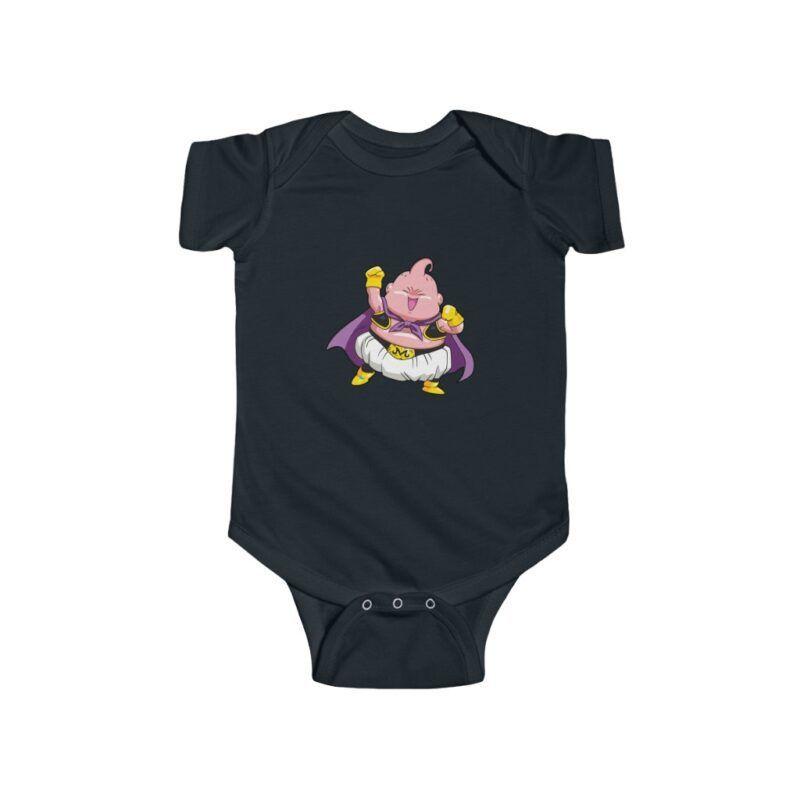 Dragon Ball Z Fat Buu Awesome Cute Infant Bodysuit