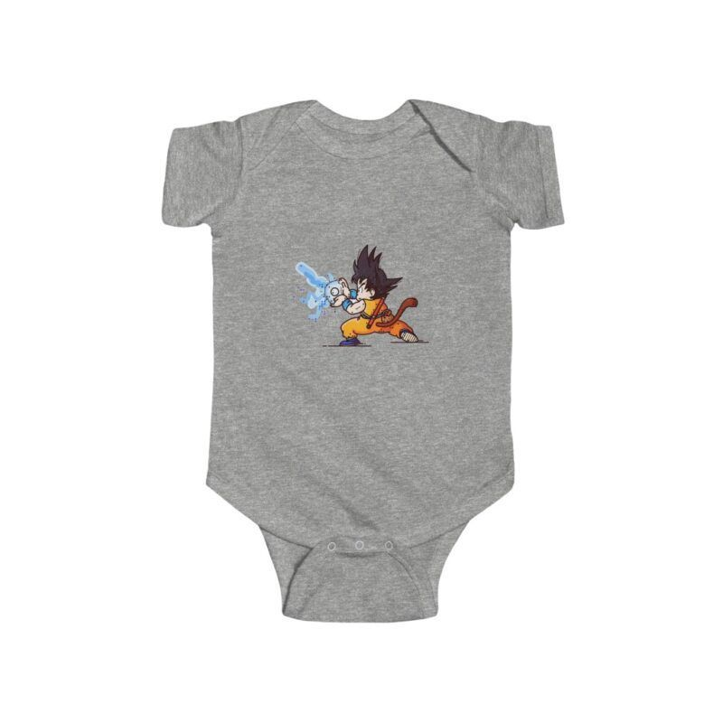 Dragon Ball Kid Goku Kamehameha NB Infant Bodysuit