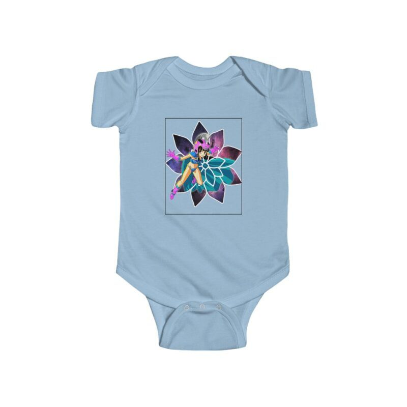 Dragon Ball Z Young Chi-Chi Galaxy Back Ground Baby Onesie 24M