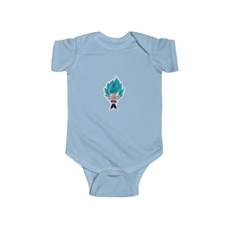 Dragon Ball Vegito Super Saiyan Blue Cute 24M Onesie