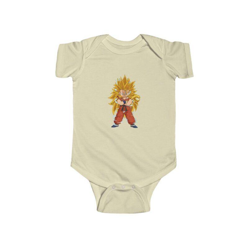 Dragon Ball Z Goku Super Saiyan 3 Cute Baby Suit Onesie 24M
