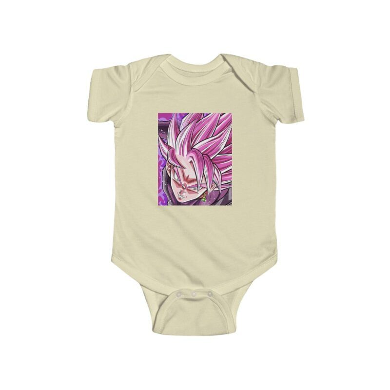 Dragon Ball Z Goku Black Super Saiyan Rose Awesome Baby Onesie