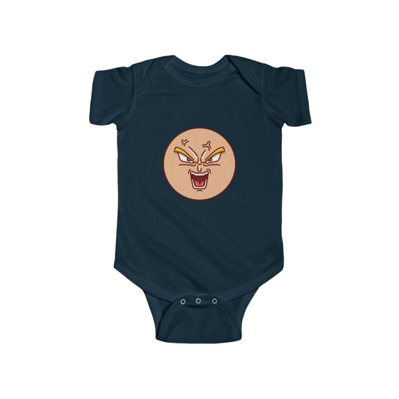 Dragon Ball Super Mad Goku Funny New Born Baby Bodysuit