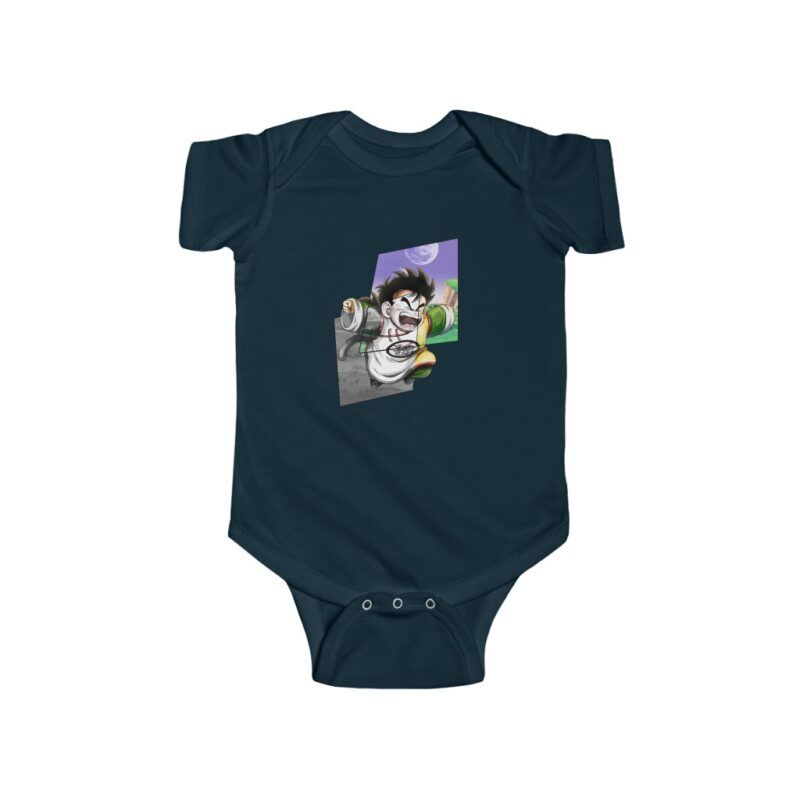 DBZ Cute Kid Gohan Going Out of Comics Baby Suit Onesie 24m