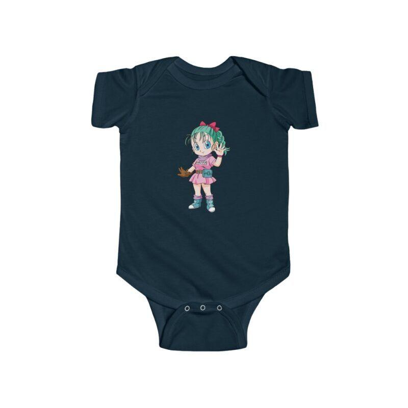 Dragon Ball Z Bulma Cute Toddler New Born 24m Bodysuit