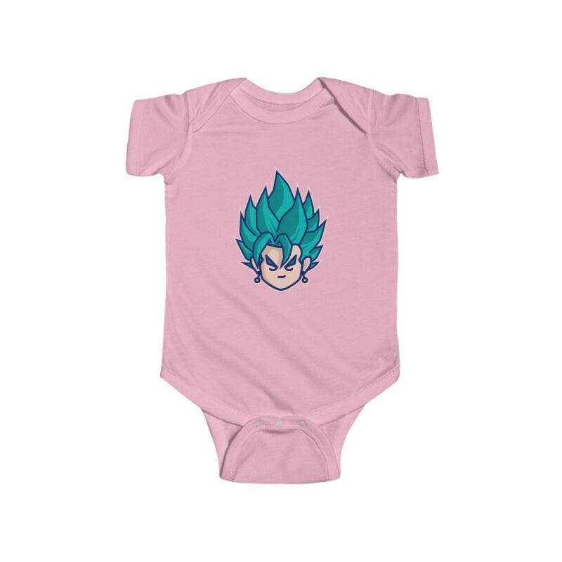 Dragon Ball Super Saiyan Vegito NB Infant Bodysuit
