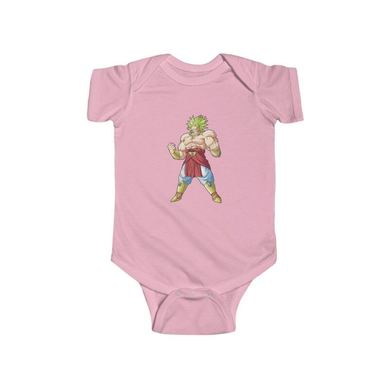 Dragon Ball Z Cool Broly Vector Baby New Born 24m Onesie