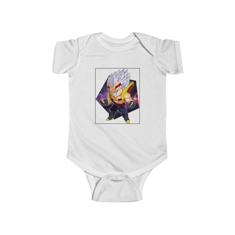 Dragon Ball Z Cute Chibi Baby Vegeta Baby Suit Onesie 24M
