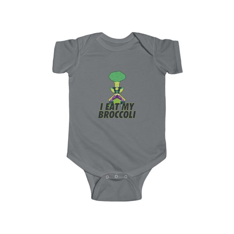 Dragon Ball I Eat My Broccoli Broly New Born Baby Onesie