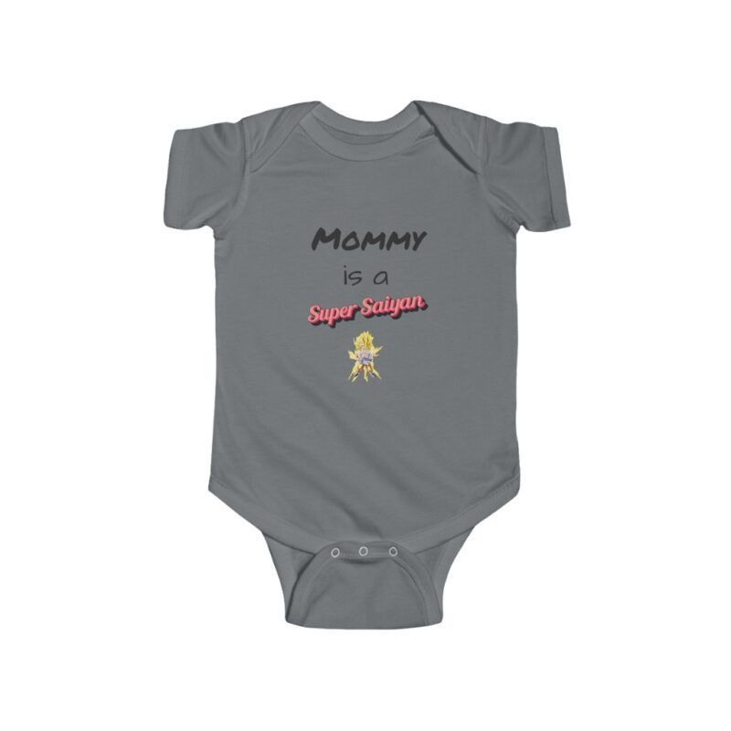 Dragon Ball Z Mommy Is A Super Saiyan Cute Toddler Bodysuit