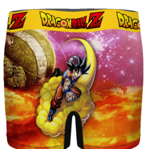 DBZ Goku Flying With His Nimbus Around The Galaxy Men's Brief - back