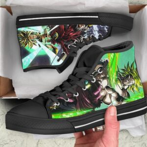 DBZ Legendary Super Saiyan Broly Energized Dope Sneaker Shoes