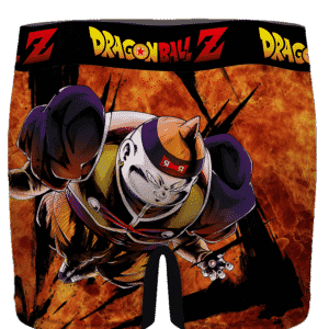Dragon Ball Android 19 Flame Explosion Men's Boxer Brief- back