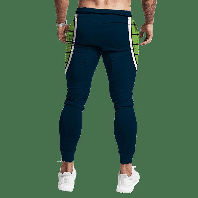 Dragon Ball Fighter Z Bardock Bottom Cosplay Track Pants Back