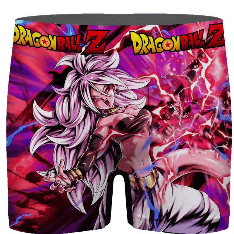 Dragon Ball FighterZ Sexy Hot Android 21 Amazing Men's Brief