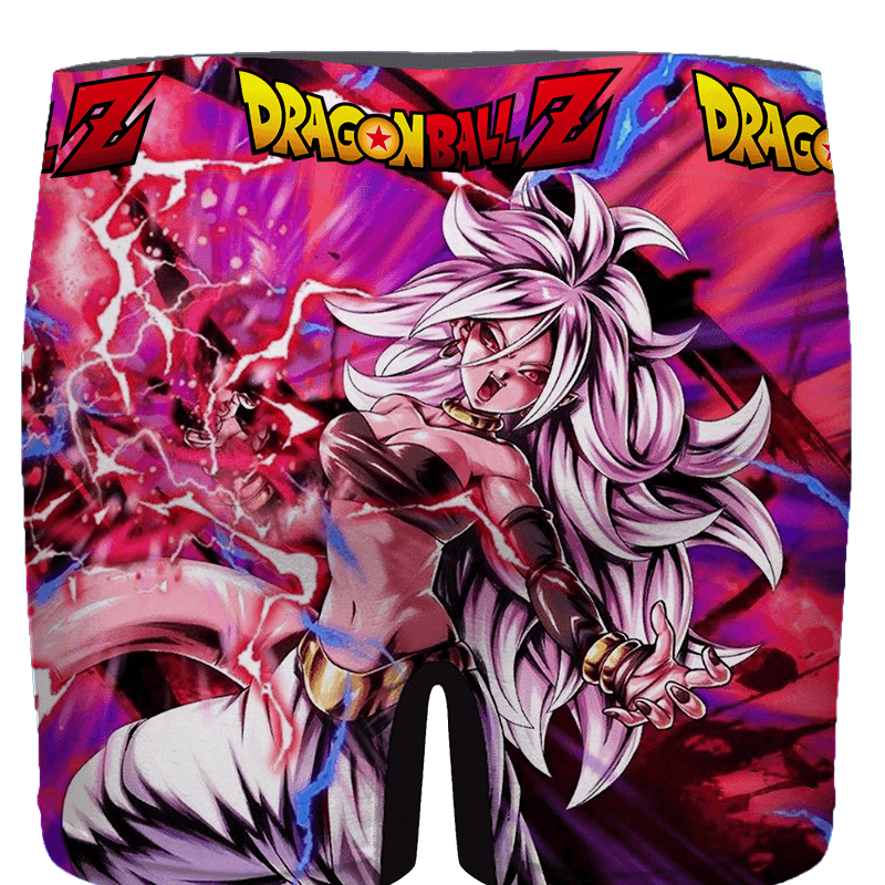 Dragon Ball FighterZ Sexy Hot Android 21 Amazing Men's Brief - back