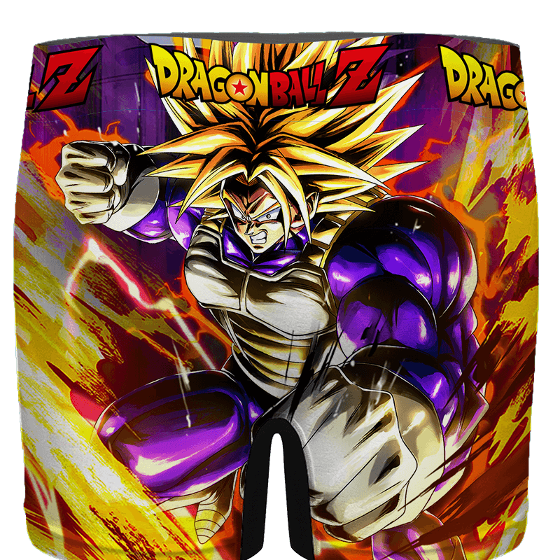 Dragon Ball Future Trunks Super Saiyan Amazing Men's Brief - back