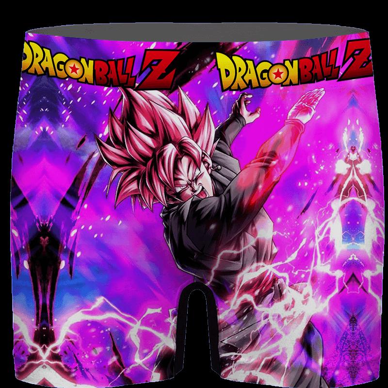 Dragon Ball Goku Black Saiyan Rose Awesome Men's Underwear